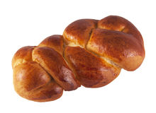 Challah. Special Jewish braided bread eaten on Sabbath and holidays Stock Photos