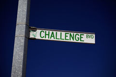 challenge Royaltyfri Foto