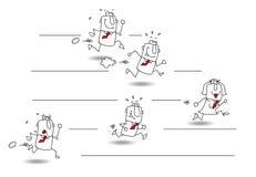 challenge vektor illustrationer