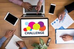 challenge Royaltyfria Bilder