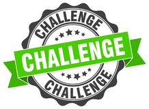 Challenge seal Stock Images