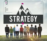 Challenge Target Improvement Strategy Concept stock photography
