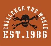 challenge the world Stock Photo
