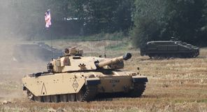 Free Challenger 1 Stock Photography - 157079772