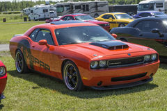 Challenger car Stock Photo