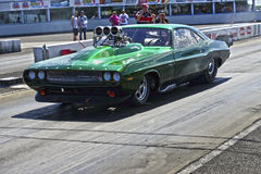 Challenger drag car Stock Photo