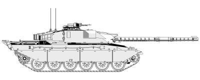 Challenger Main Battle Tank Royalty Free Stock Photo