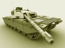 Challenger Main Battle Tank Royalty Free Stock Images