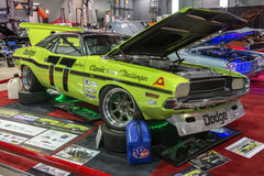 Challenger race car Royalty Free Stock Images