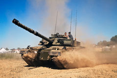 Challenger 1 tank Stock Photography