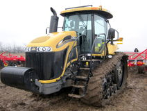 Challenger  tractor.  Stock Photo