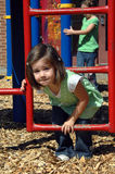 Challenging Playground Equipment Stock Image