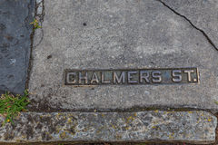 Chalmers Street Royalty Free Stock Photo