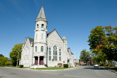 Chalmers United Church - Kingston - il Canada immagini stock
