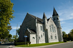Chalmers United Church - Kingston - Kanada royaltyfri fotografi