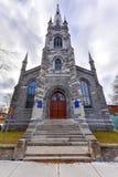 Chalmers-Wesley United Church - Cidade de Quebec, Canadá Imagens de Stock