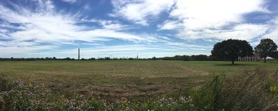 Chalmette National Battlefield Panorama Royalty Free Stock Photography