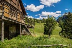 Chalmettes ceillac w qeyras w hautes alpes w France obraz royalty free