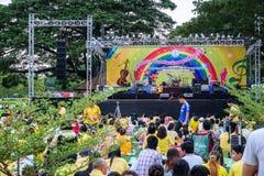 Chaloem Phra Kiat Music Festival Stock Photo
