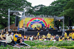 Chaloem Phra Kiat Music Festival for Thai King Stock Images