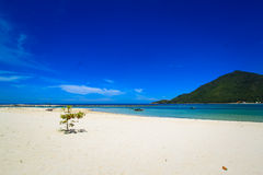 Chaloklum海滩酸值Phangan 免版税图库摄影