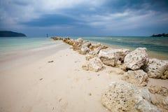 Chalokum beach on Koh Phangan Stock Photos