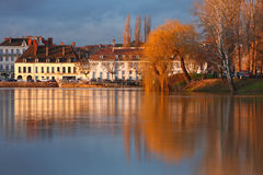Chalon sur Saône Royalty Free Stock Images