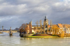 Chalon sur Saone Royalty Free Stock Photos