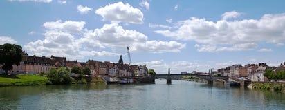 Chalon sur Saone, Frankrijk Stock Foto
