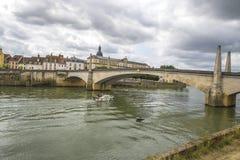 Chalon sura Saone, Francja Zdjęcia Stock