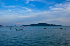 Chalong bay@ Phuket Thailand 2010. On monday for relaxation on holidays Stock Images