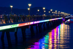 Chalong pier Stock Photography