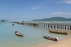 Chalong-Pier, Phuket, Thailand Stockfotografie