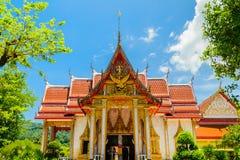 Chalong Tempel Stockbild