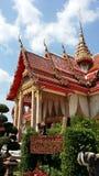 Chalong Tempel Lizenzfreies Stockfoto