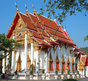 Chalong temple Royalty Free Stock Photos