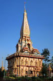 Chalong temple Royalty Free Stock Photography