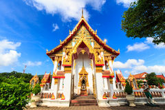 Chalong temple Stock Image