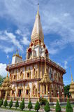 Chalong temple Phuket Thailand Royalty Free Stock Photography
