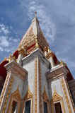 Chalong temple Phuket Thailand Stock Images