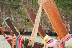 Chaloupes thaïes Images libres de droits