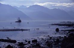 Chalutier de pêche Photographie stock libre de droits