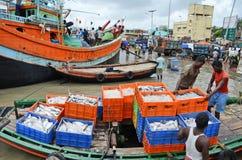 Chalutier de pêche Images stock