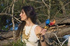 Chamán gitano Woman foto de archivo libre de regalías