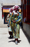 Cham dance at Lamayuru Gompa in Ladakh, India Royalty Free Stock Photography