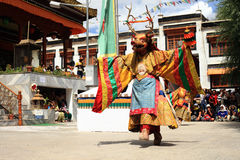 Cham dance performance Stock Photography