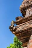 Cham góruje po Nagar Sławny pałac w Nhatrang, Wietnam Fotografia Royalty Free