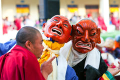 Cham-Geheimnis, Nepal Lizenzfreies Stockfoto