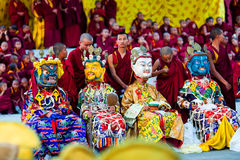 Cham Mystery, Nepal Royalty Free Stock Image
