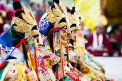 Cham Mystery, Nepal Royalty Free Stock Photography